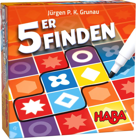 Find 5 - Dice Game