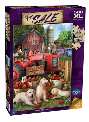 Holdson XL: 500 Piece Puzzle - For Sale (Official Taste Testers)