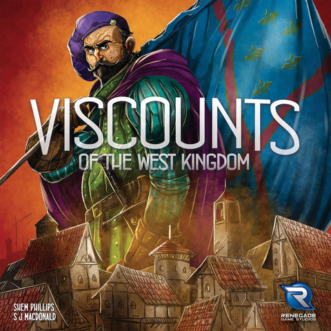 Viscounts of the West Kingdom - Board game