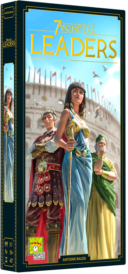 7 Wonders: 2nd Edition - Leaders Expansion