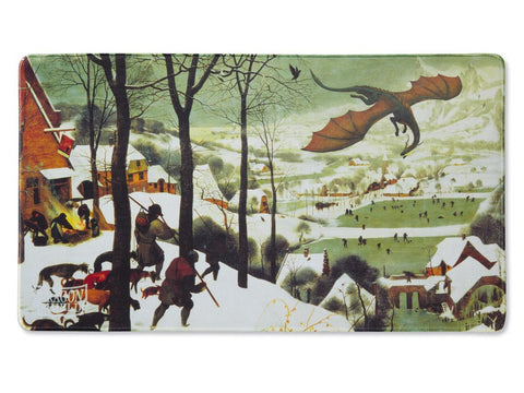 Dragon Shield: Playmat - Hunters in the Snow