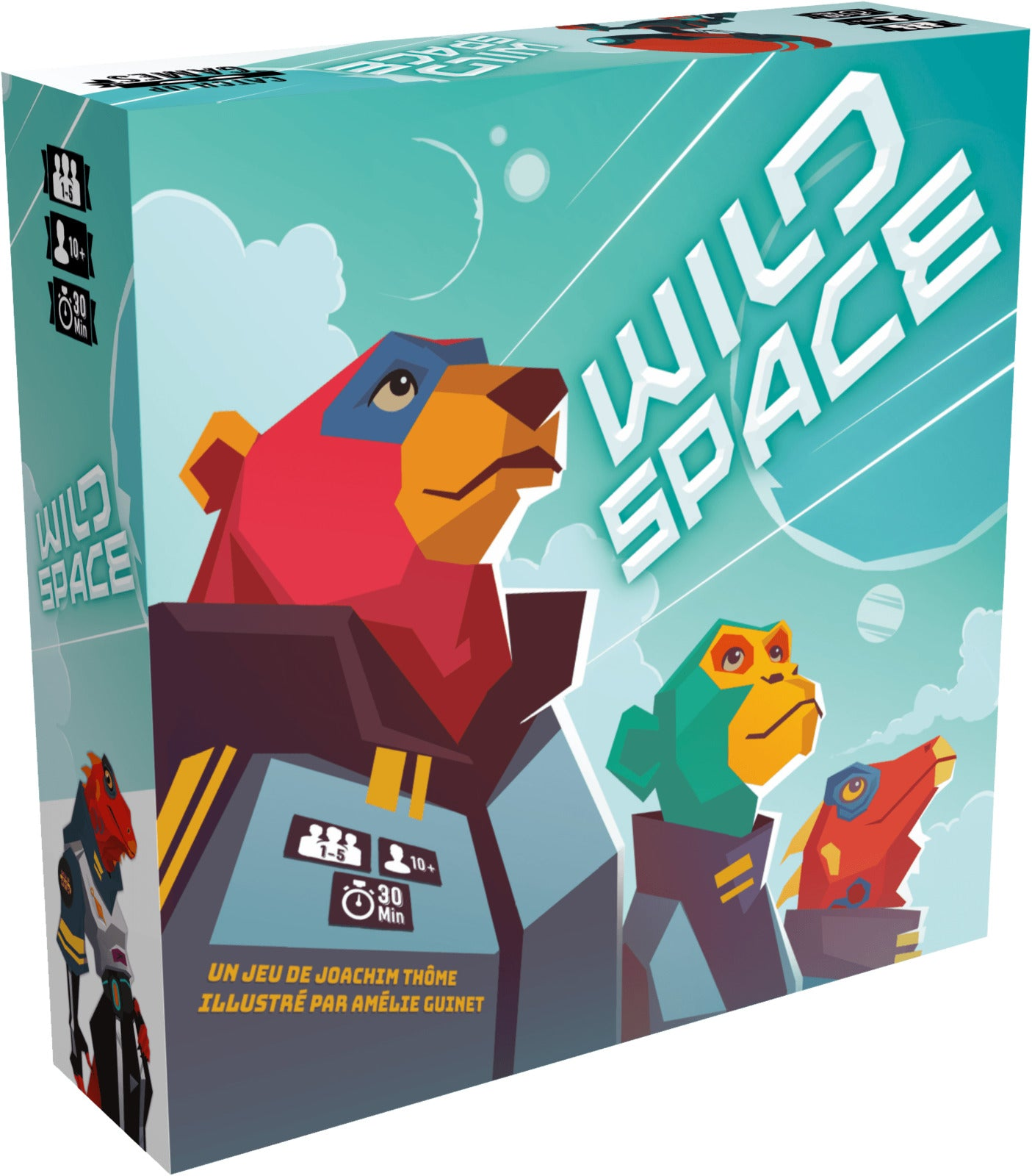 Wild Space - Board Game