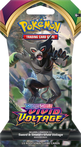 Pokemon TCG: Sword and Shield - Vivid Voltage Blister