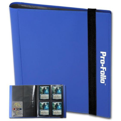 BCW: Pro-Folio 4-Pocket - Blue