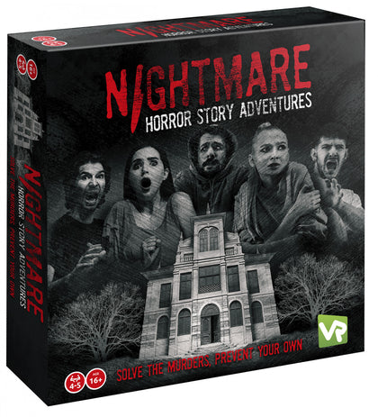 Nightmare Horror Adventures -Board game