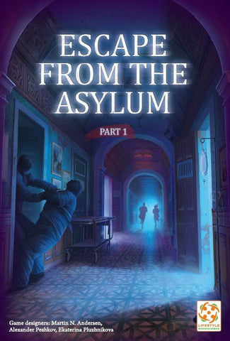 Escape from the Asylum - Escape Room Game