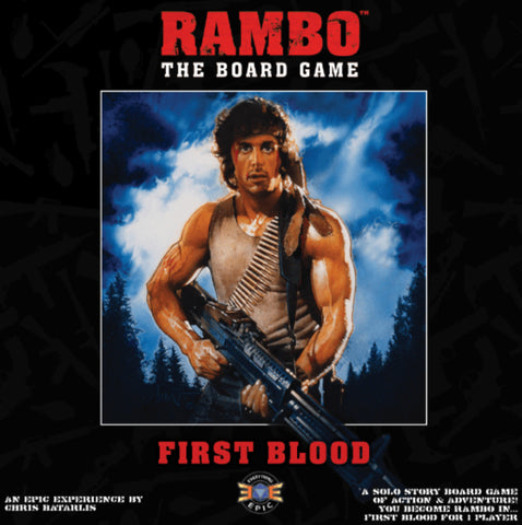 Rambo: The Board Game - First Blood Expansion