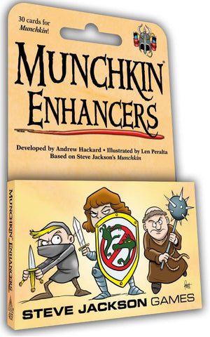 Munchkin: Enhancers - Game Expansion
