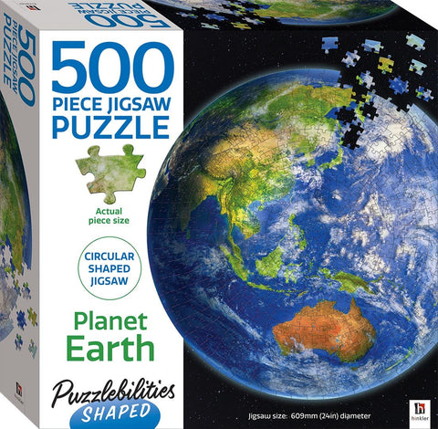 Puzzlebilities: Earth Shaped - 500pc
