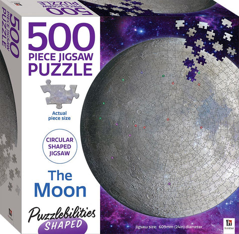 Puzzlebilities: Moon Shaped - 500pc
