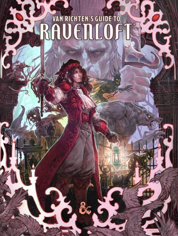Dungeons & Dragons: Van Richten's Guide to Ravenloft (Exclusive Cover)