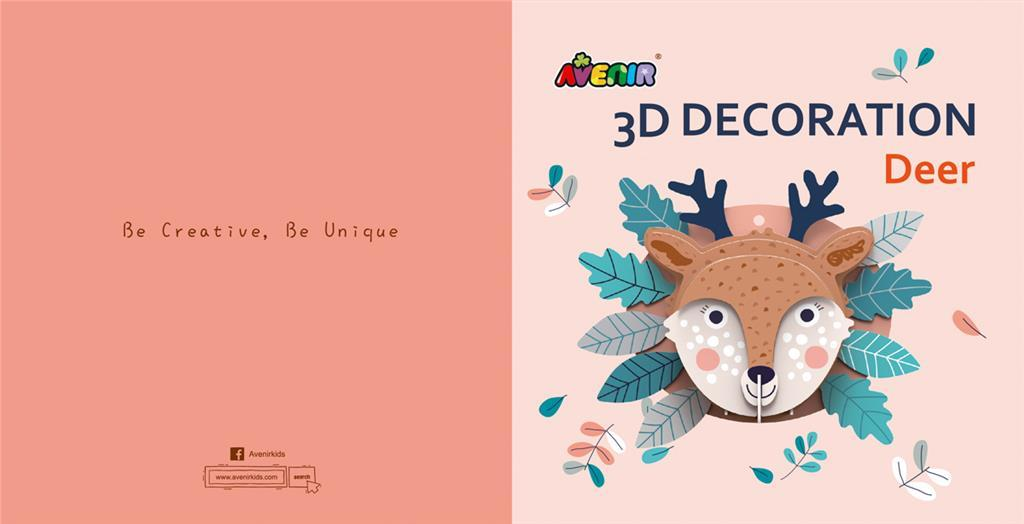 Avenir: 3D Decoration Wall Puzzle - Deer