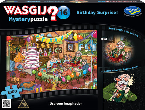 Wasgij: 1000 Piece Puzzle - Mystery #16 (Birthday Surprise)
