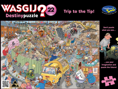 Wasgij: 1000 Piece Puzzle - Destiny #22 (Trip to the Tip)