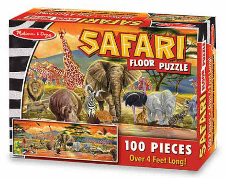 Melissa & Doug: 100 Piece Safari Floor Puzzle