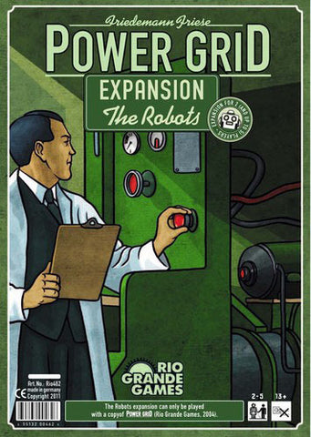 Power Grid: The Robots Expansion - The Board Gamer