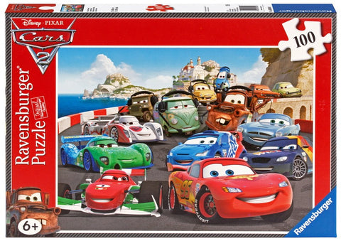 Ravensburger 100 Piece Jigsaw Puzzle - Disney Cars Racing