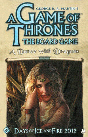 Game of Thrones: The Board Game - A Dance with Dragons - The Board Gamer