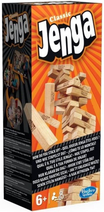 Jenga Classic - The Board Gamer