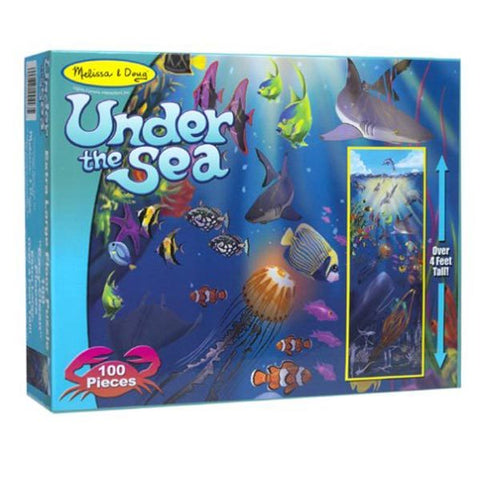 Under the Sea Floor Puzzle - Melissa and Doug - The Board Gamer