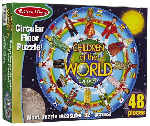 Melissa & Doug: Children of the World Floor Puzzle