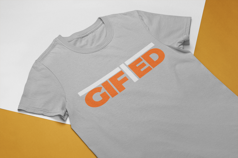 "Men's GIFTED Grey ""OWN IT"" T - shirt"