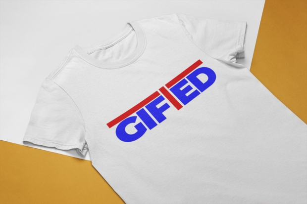 "Men's GIFTED White ""OWN IT"" T - shirt"