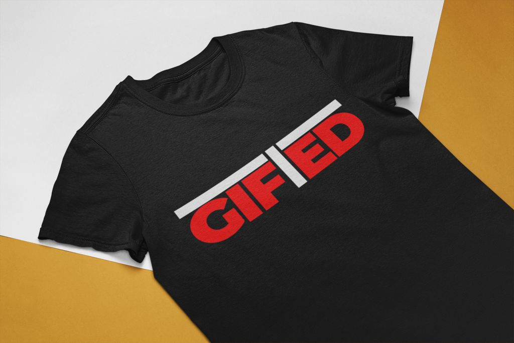"Men's GIFTED Black ""OWN IT"" T - shirt"