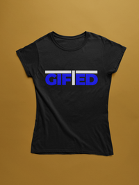 "Ladies GIFTED Black ""OWN IT"" T - shirt"