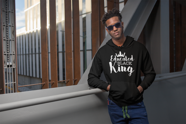 Educated Black King Hoodie