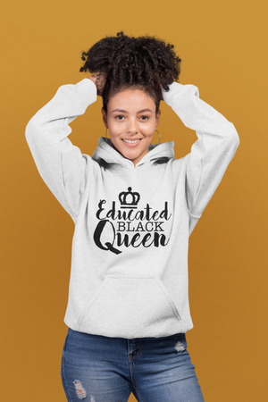 Educated Black Queen Hoodie