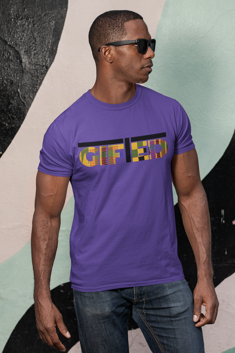 Purple Men's Legacy Gifted T - shirt