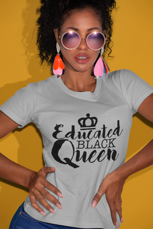 Educated Black Queen T Shirt