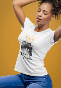 Ladies Coolest Queen In The World T Shirt