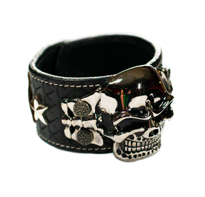 The Big Skull Black Leather