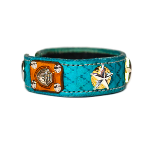 The Aristocrat Turquoise Leather