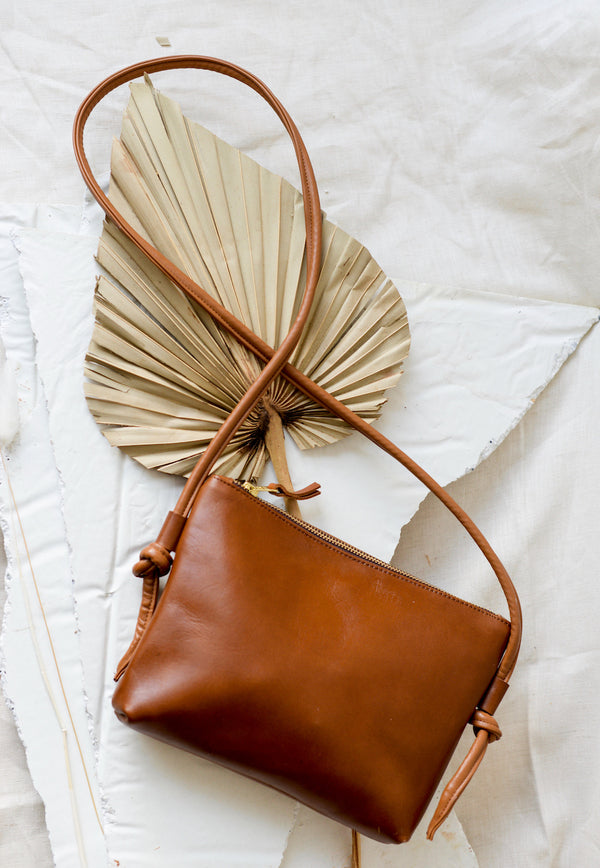 The Wabi-Sabi Brown Messenger Bag