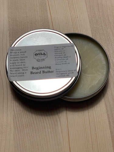 Beginning Beard Butter
