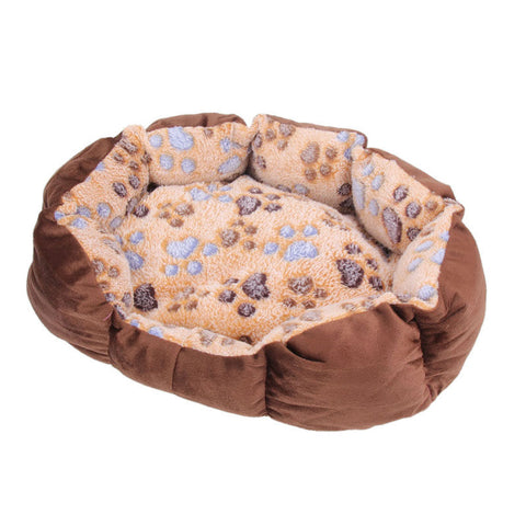 35x26x10cm Soft Fleece Cat Dog House Winter Dog Bed Puppy Mat Pad Warm Pet Bed Pet Dog Products House for the Dog Pet Supplies