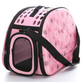 Foldable EVA Pet Carrier Puppy Dog Cat Outdoor Travel Shoulder Bag for Small Dog Pets Soft Dog Kennel Pet Carrier Bag