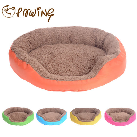 PAWING New Arrival Pet Bed Soft Material Dogs Mat Small Teddy dog Pets House Cat Warming Bed Puppy Sleeping Nest