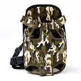 Pet Dog Carrier Backpack Mesh Camouflage Outdoor Travel Products Breathable Shoulder Handle Bags for Small Dog Cats Chihuahua