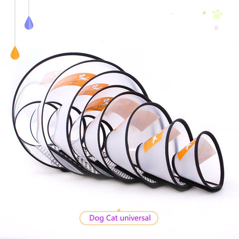 Pet Products Dog Cap Accessories Bite Ring Solid Beauty Circle Yorkshire Collar Small And Big Dog Cat Collar Plastic Accessories