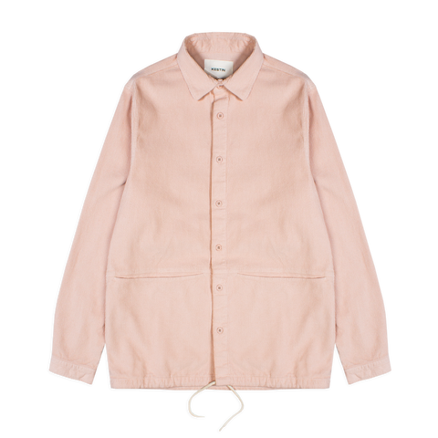 armadale shirt jacket - dusty pink
