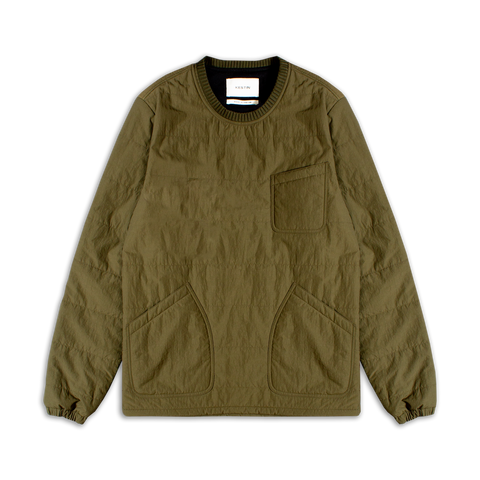 coldstream pullover - olive