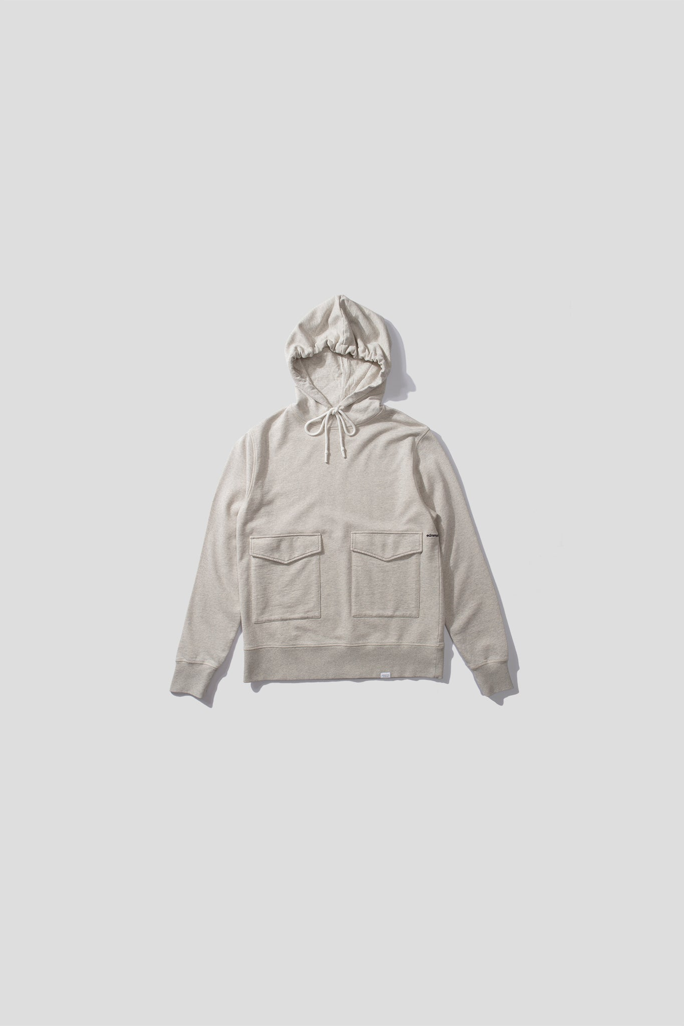 collins hoodie - light grey melange