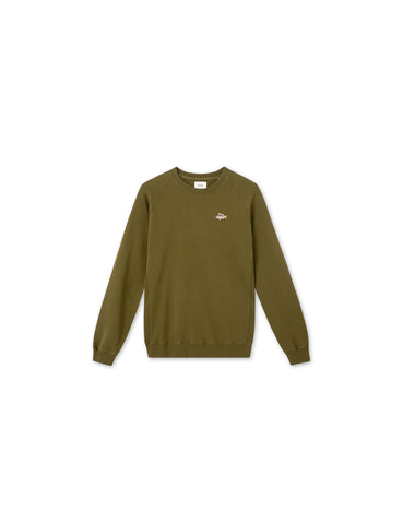 rod sweatshirt -dark olive