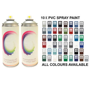 10 x PVC Spray Paint Matt Finish Save £££ - monster-colors