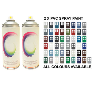 2 x PVC Spray Paint Gloss Finish Save £££ - monster-colors