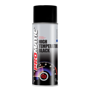 Promatic High Temperature Spray Paint Black 400ml - monster-colors